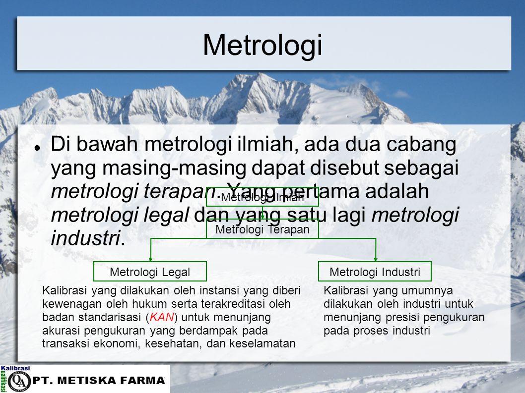 Metrologi