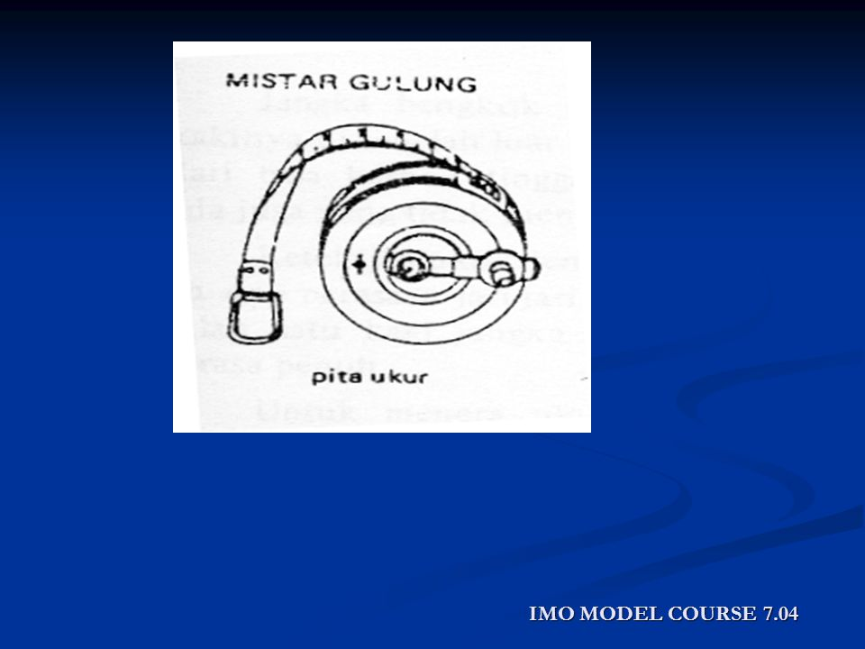 IMO MODEL COURSE 7.04