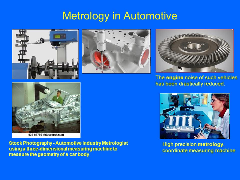 Metrology in Automotive