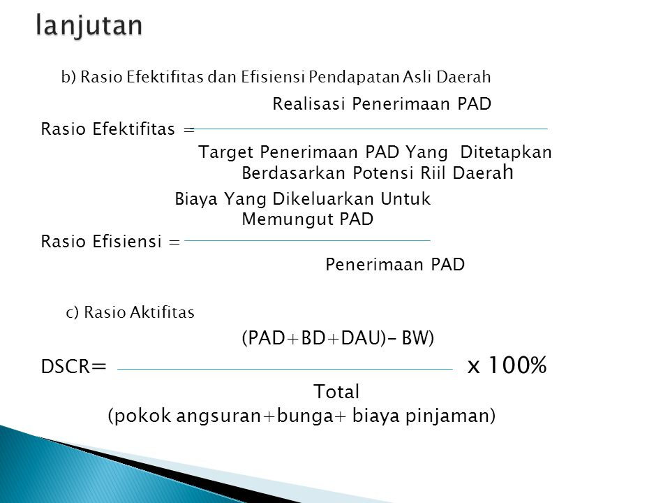 lanjutan Realisasi Penerimaan PAD (PAD+BD+DAU)- BW)