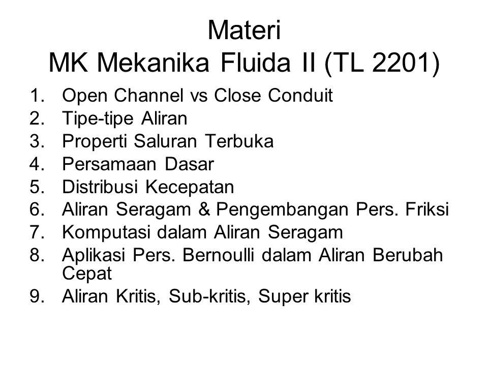 Materi MK Mekanika Fluida II (TL 2201)