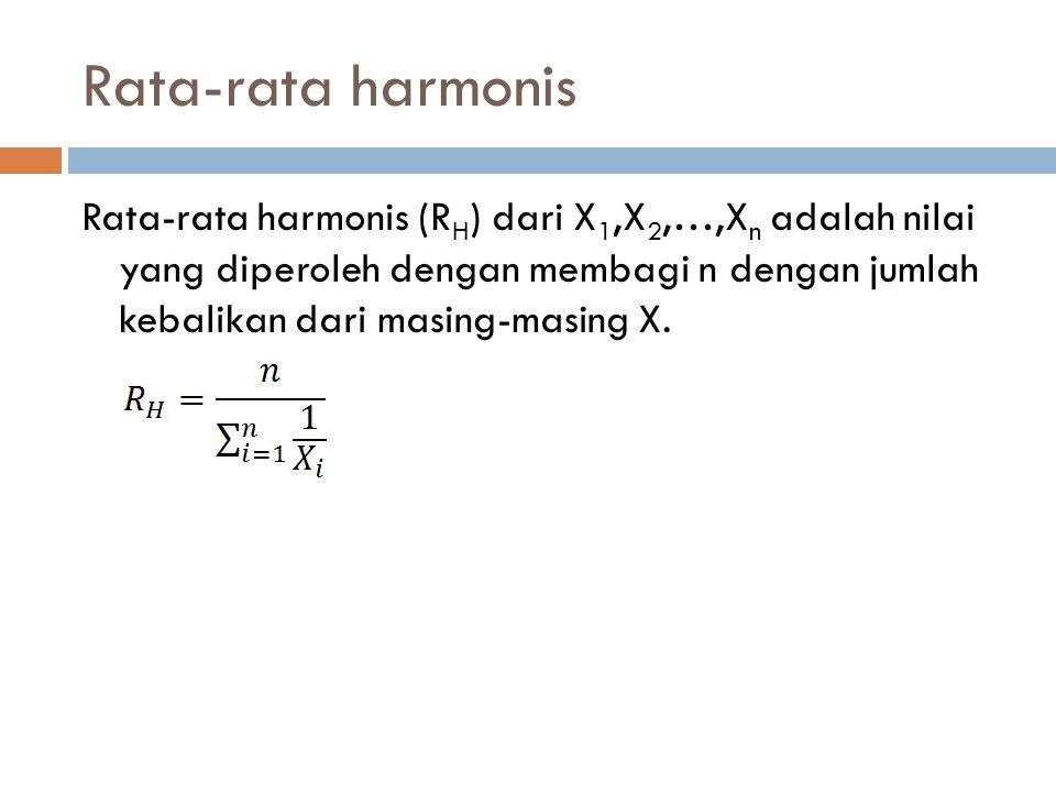 Rata-rata harmonis