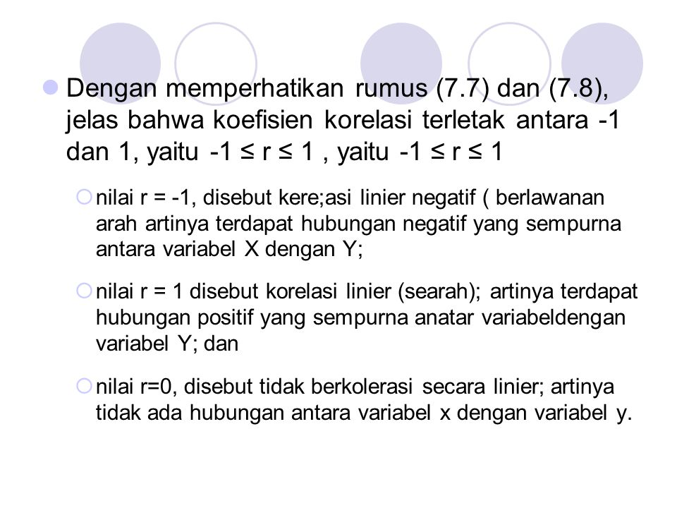 Dengan memperhatikan rumus (7. 7) dan (7