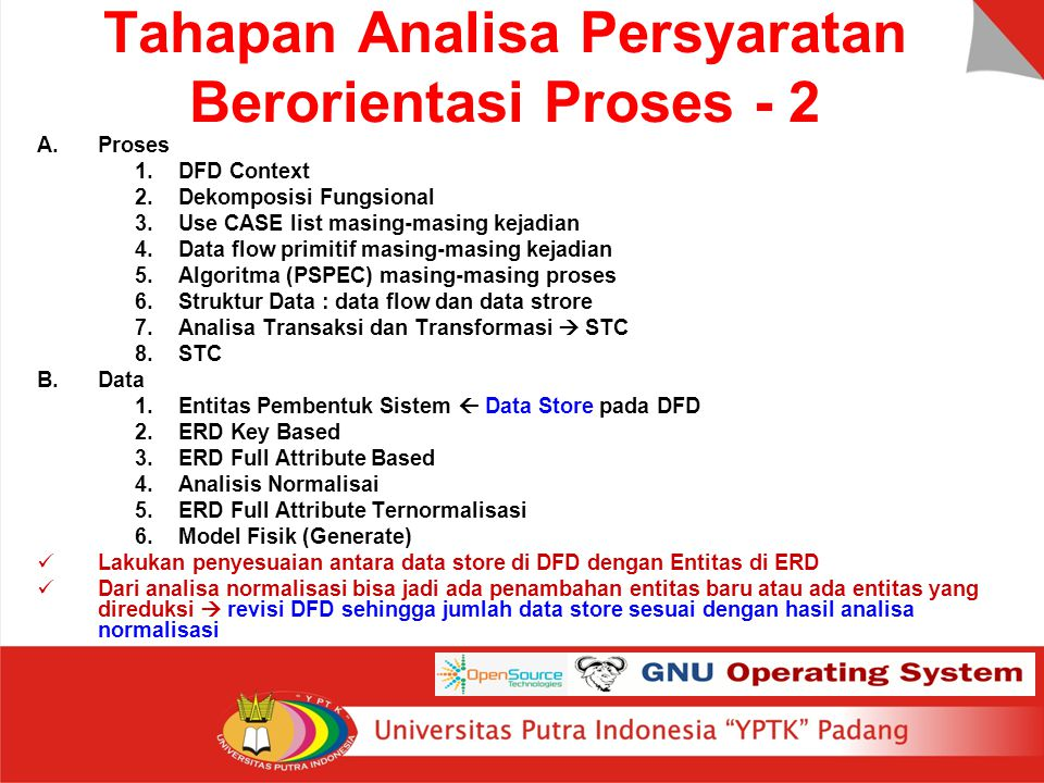 Tahapan Analisa Persyaratan Berorientasi Proses - 2