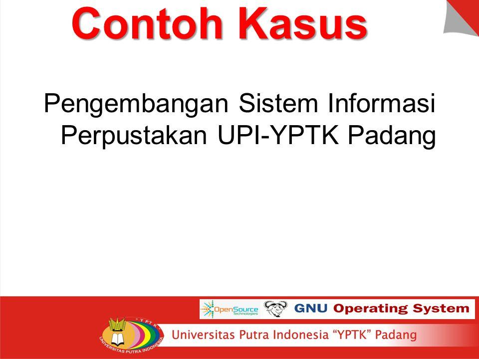 Pengembangan Sistem Informasi Perpustakan UPI-YPTK Padang