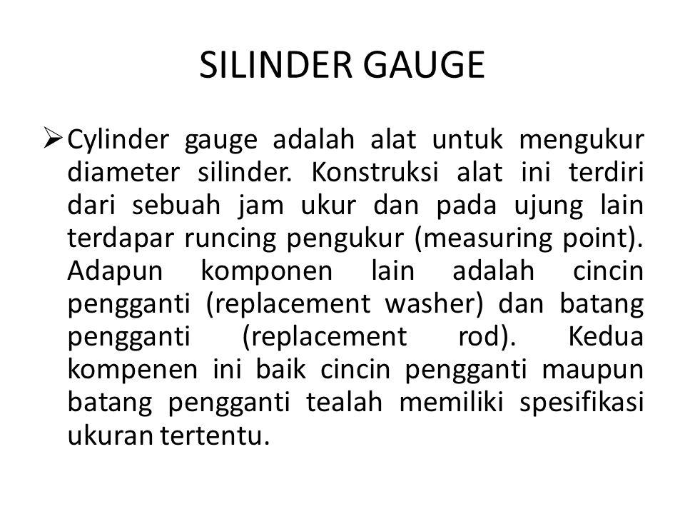 SILINDER GAUGE