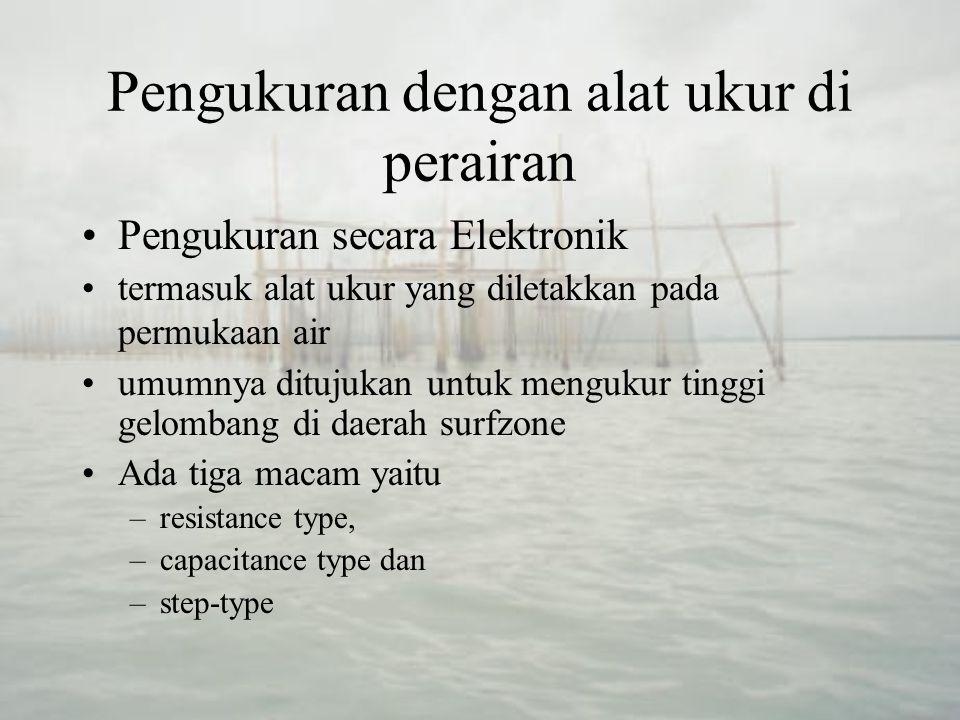 Pengukuran dengan alat ukur di perairan