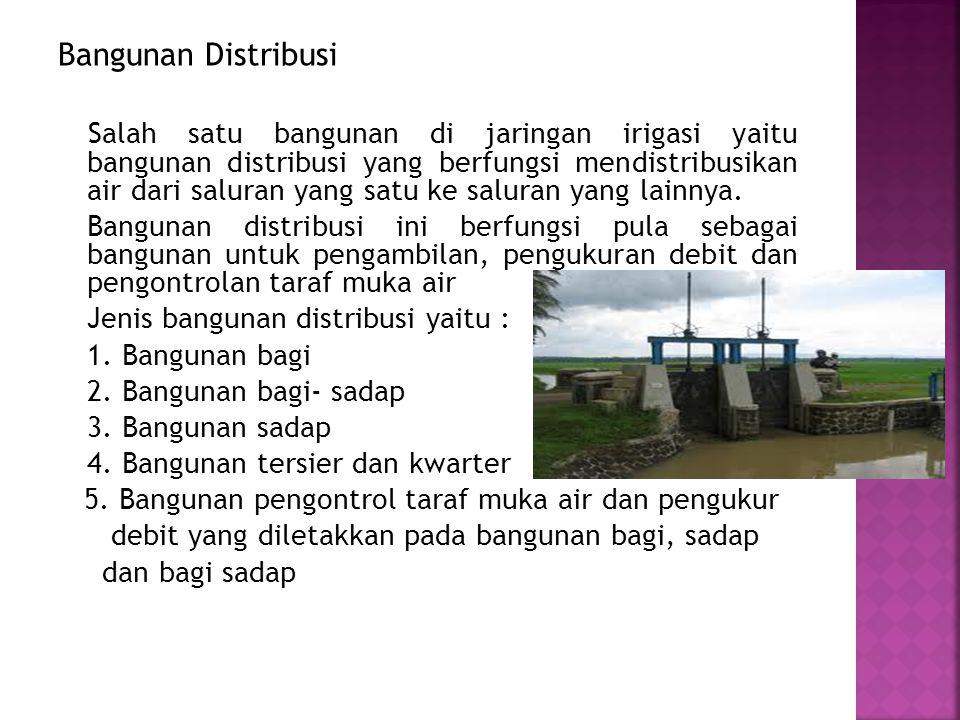Bangunan Distribusi