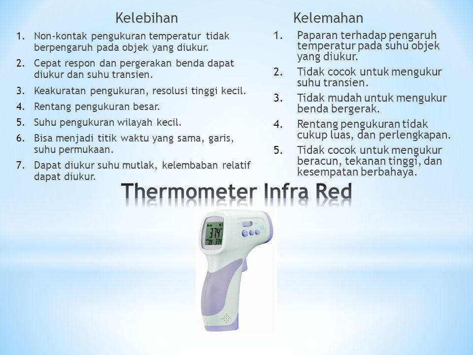 Thermometer Infra Red Kelebihan Kelemahan