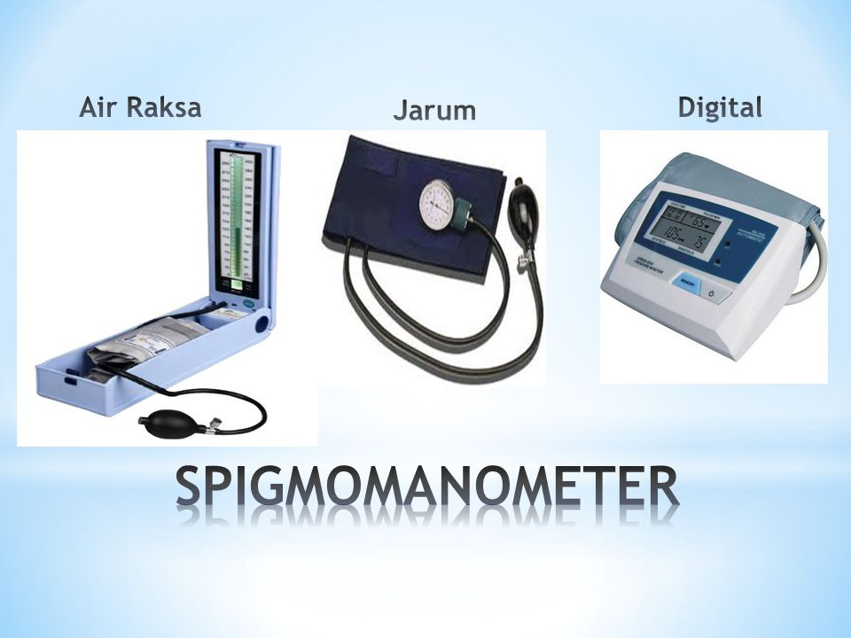 Air Raksa Jarum Digital SPIGMOMANOMETER