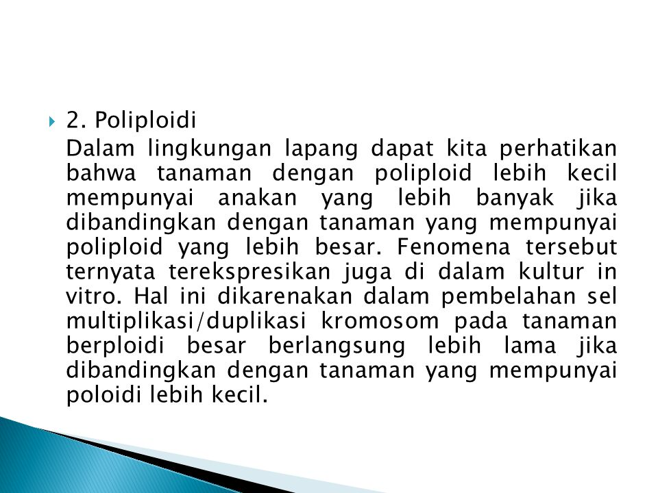 2. Poliploidi