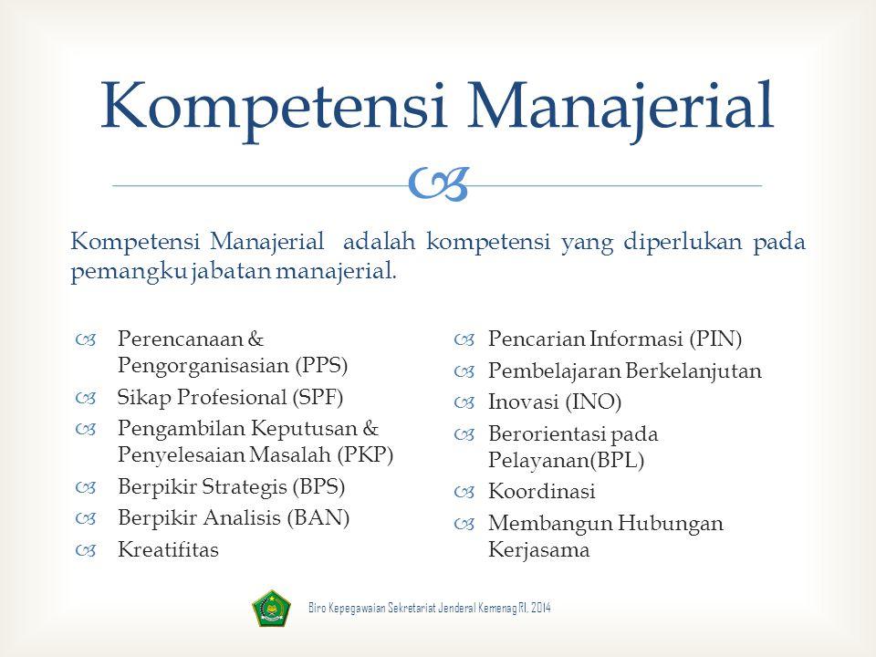 Kompetensi Manajerial
