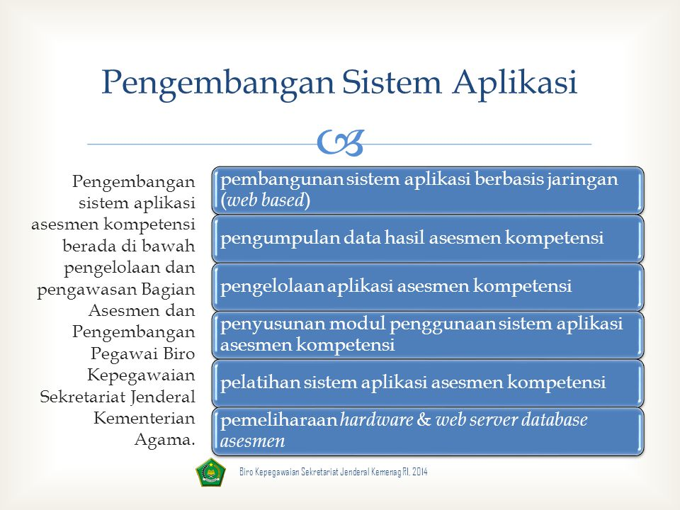 Pengembangan Sistem Aplikasi