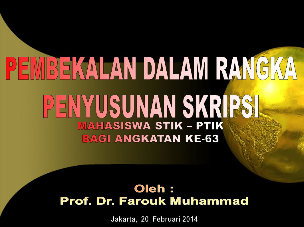 Prof. Dr. Farouk Muhammad