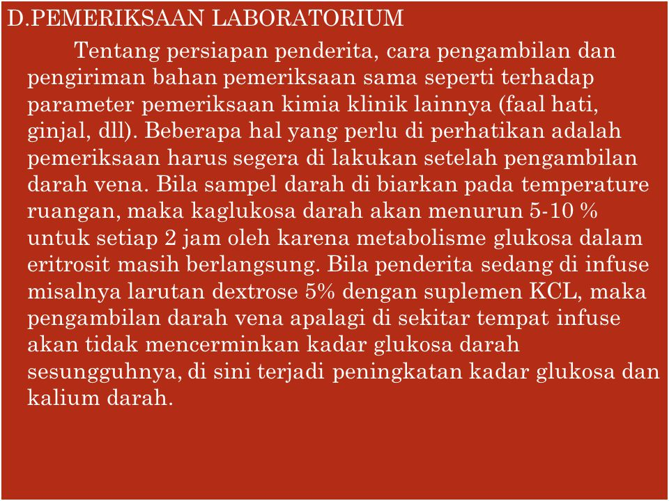 D.PEMERIKSAAN LABORATORIUM