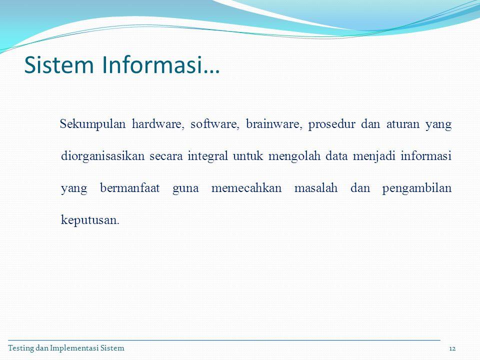 Sistem Informasi…