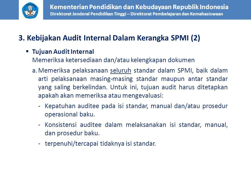 3. Kebijakan Audit Internal Dalam Kerangka SPMI (2)