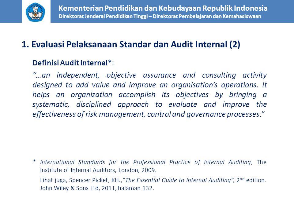1. Evaluasi Pelaksanaan Standar dan Audit Internal (2)