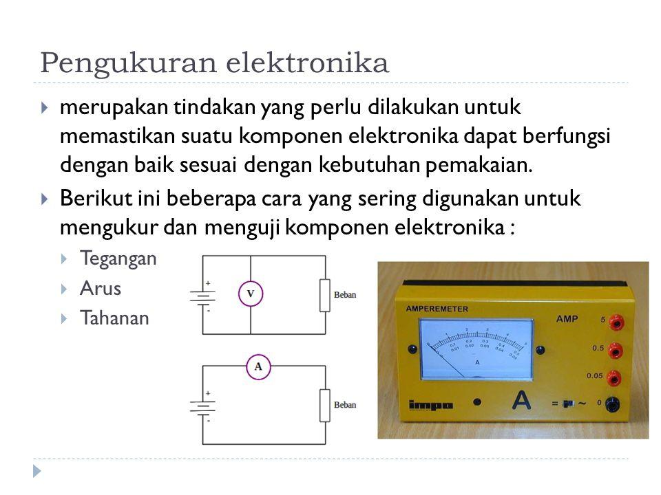 Pengukuran elektronika