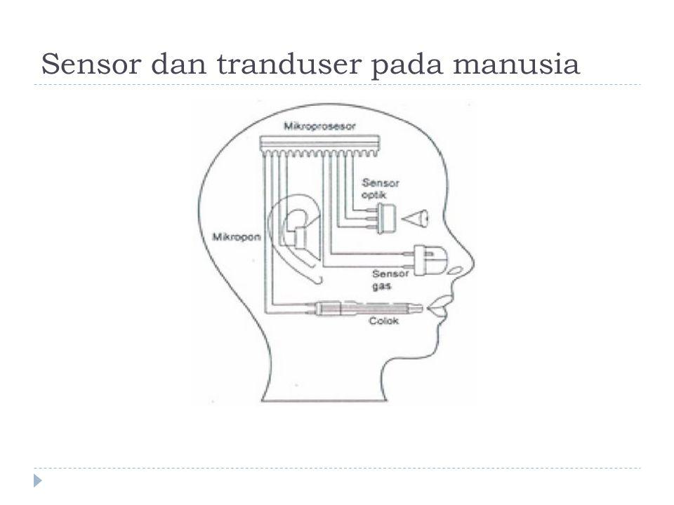 Sensor dan tranduser pada manusia