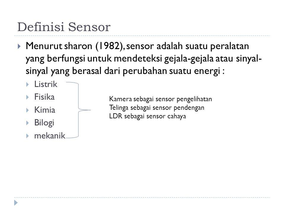 Definisi Sensor