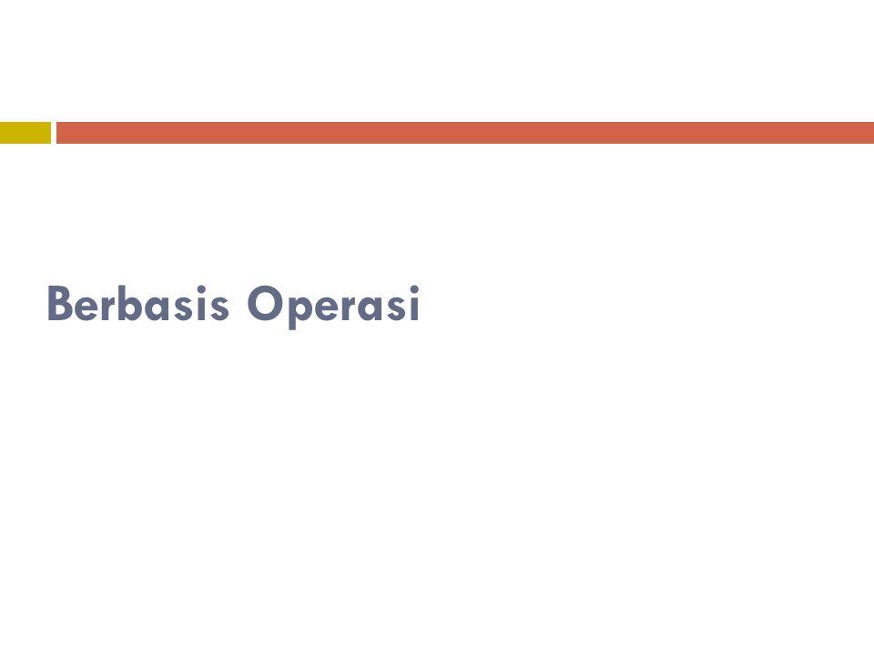 Berbasis Operasi