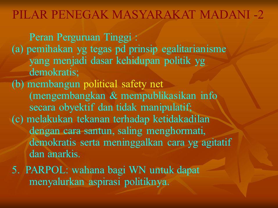 PILAR PENEGAK MASYARAKAT MADANI -2