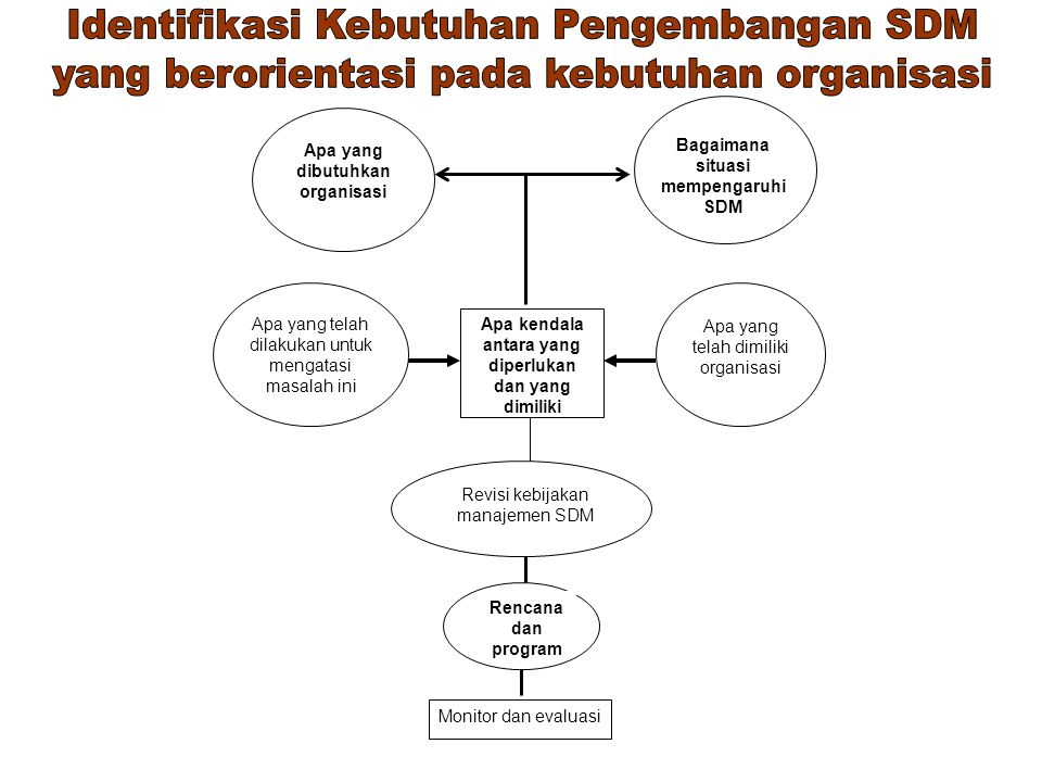 Identifikasi Kebutuhan Pengembangan SDM