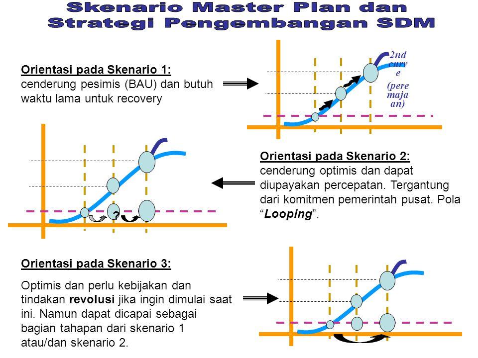 Skenario Master Plan dan Strategi Pengembangan SDM
