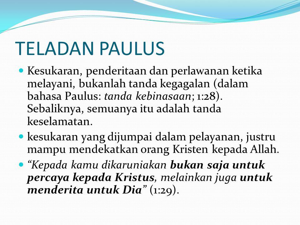 TELADAN PAULUS