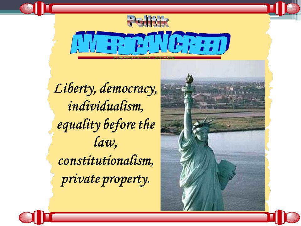 Politik AMERICAN CREED