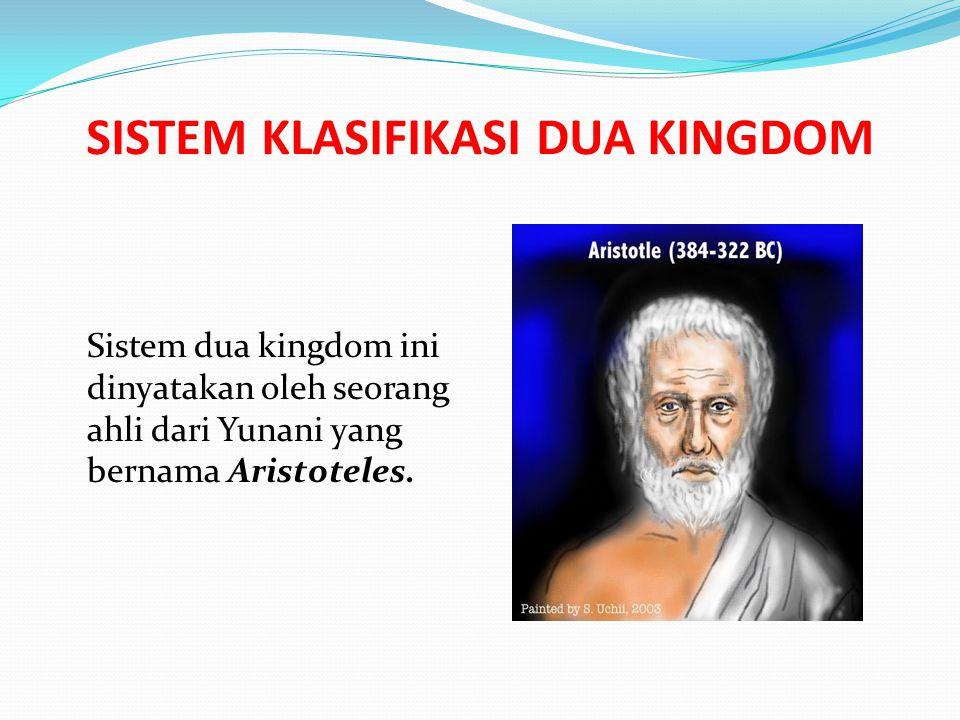 SISTEM KLASIFIKASI DUA KINGDOM