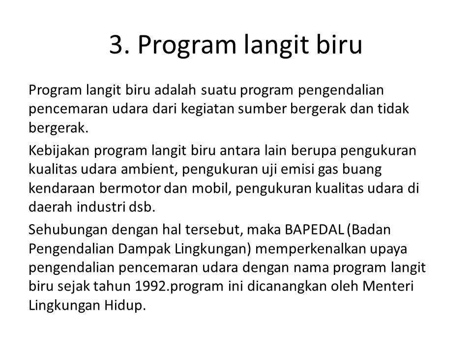 3. Program langit biru