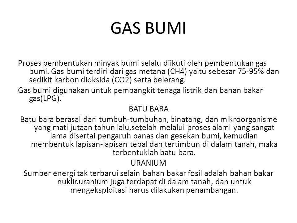 GAS BUMI