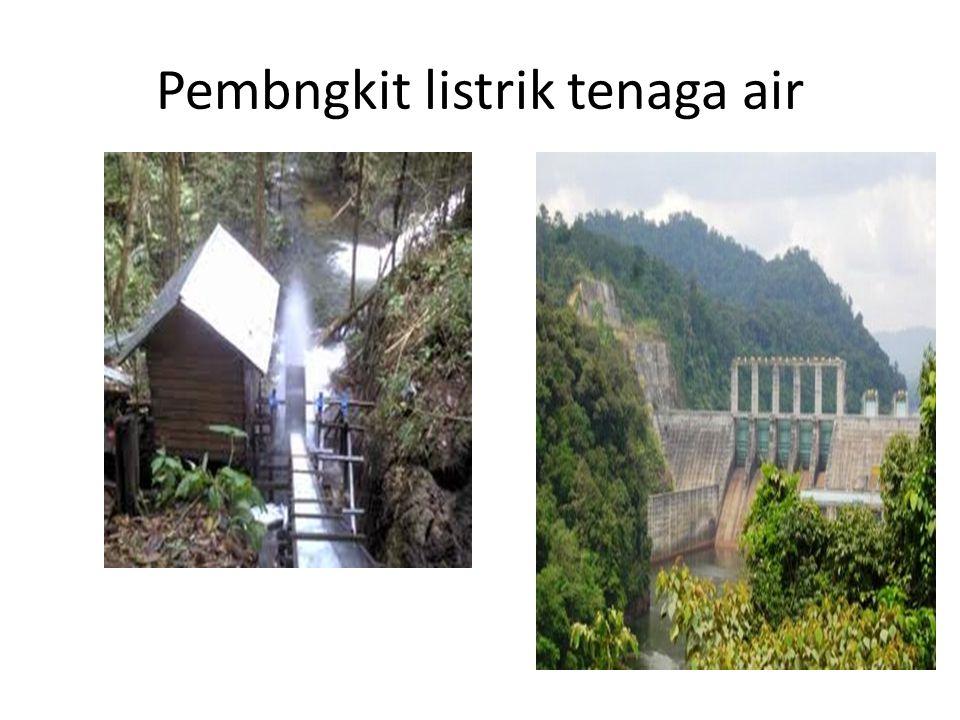 Pembngkit listrik tenaga air