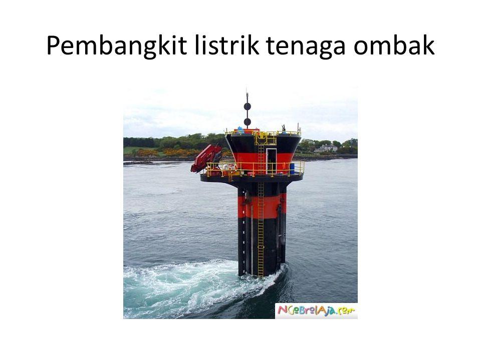 Pembangkit listrik tenaga ombak