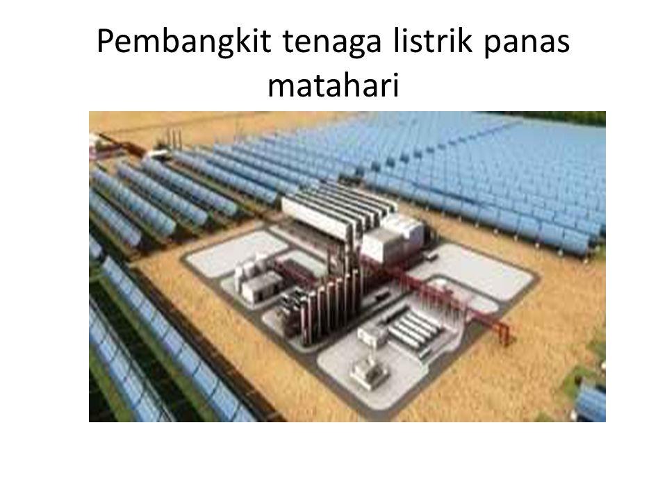 Pembangkit tenaga listrik panas matahari