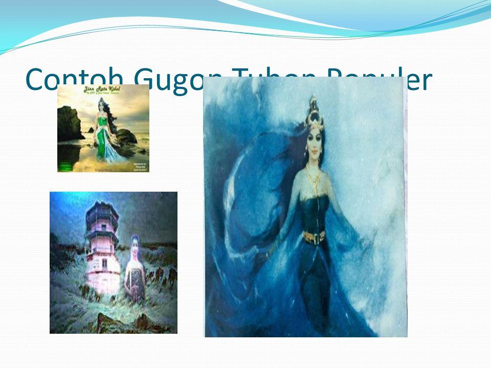 Contoh Gugon Tuhon Populer