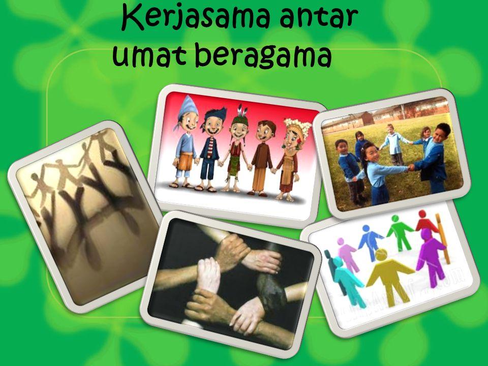 Kerjasama antar umat beragama