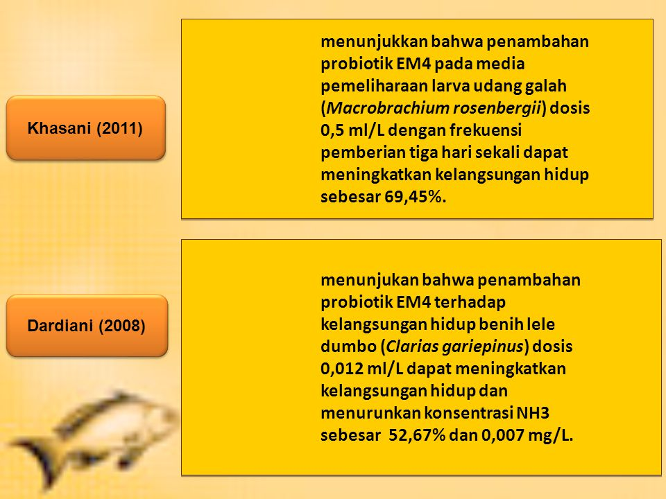 menunjukkan bahwa penambahan probiotik EM4 pada media