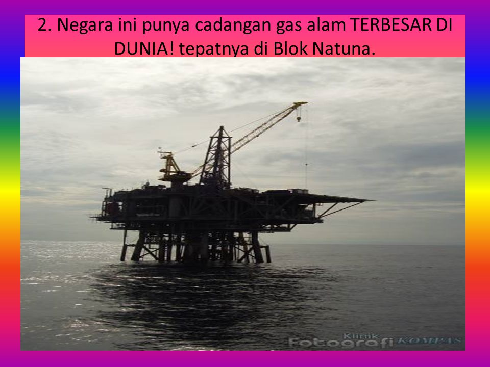 2. Negara ini punya cadangan gas alam TERBESAR DI DUNIA