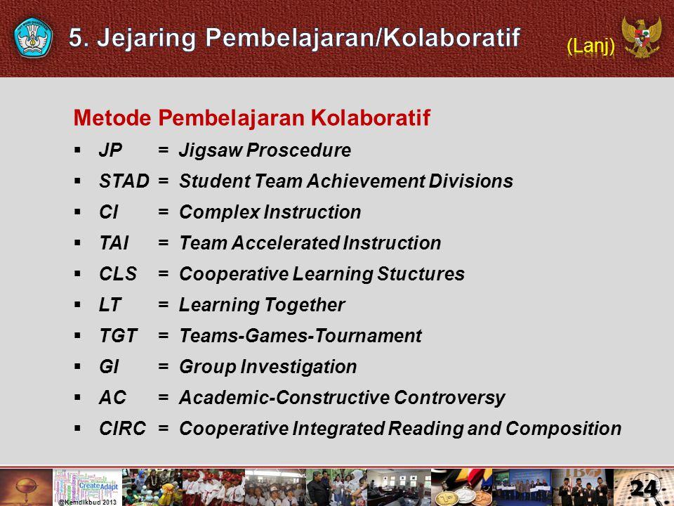 5. Jejaring Pembelajaran/Kolaboratif