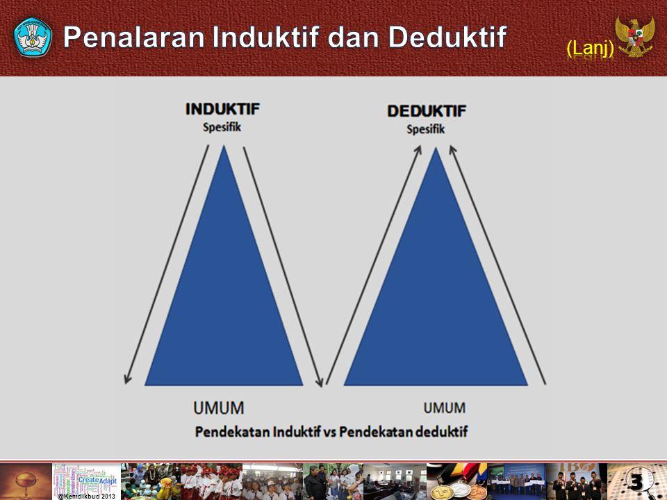 Penalaran Induktif dan Deduktif