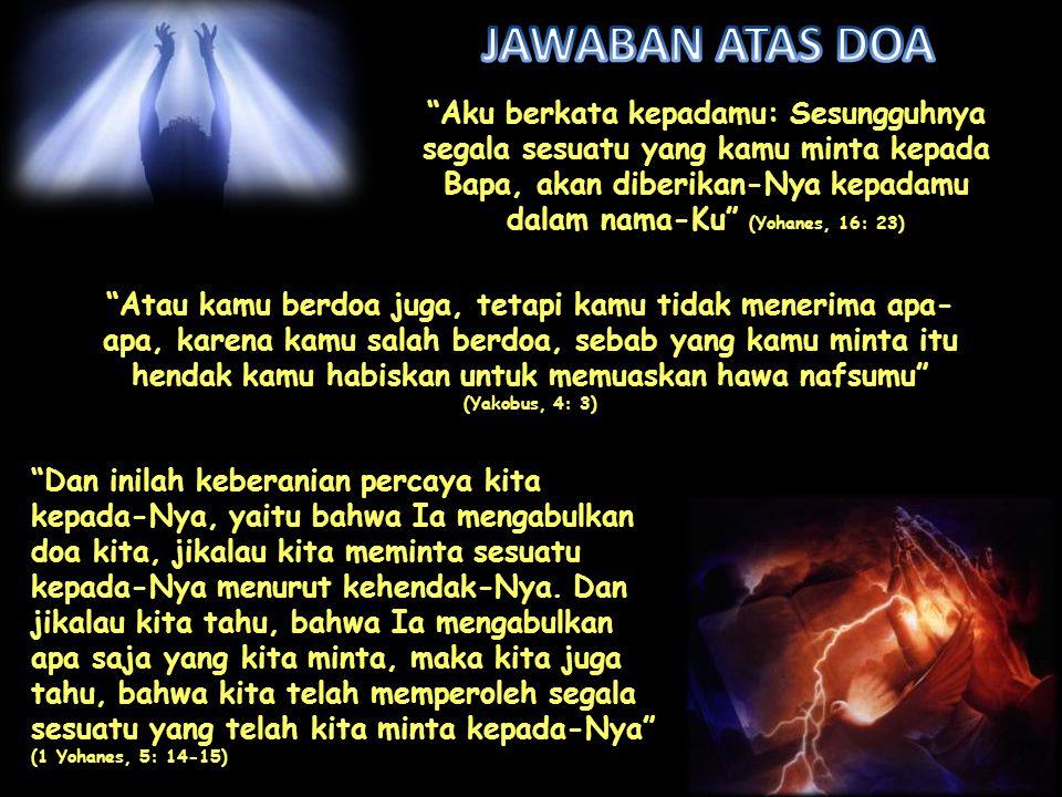 JAWABAN ATAS DOA