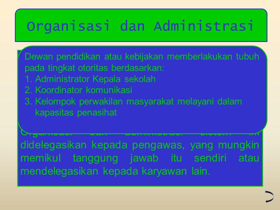 Organisasi dan Administrasi