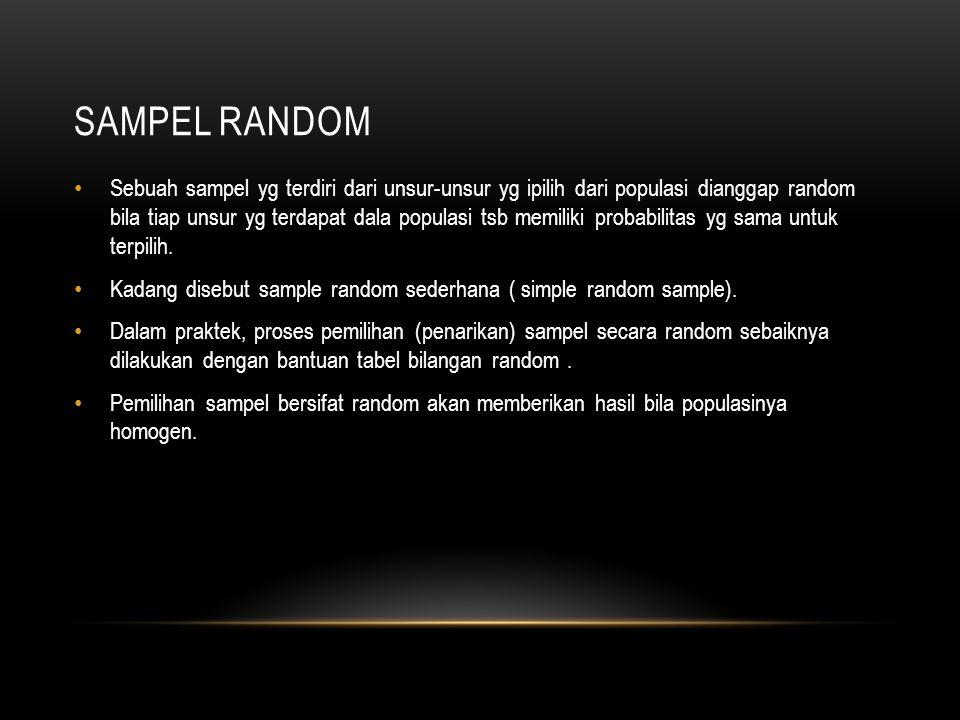Sampel random