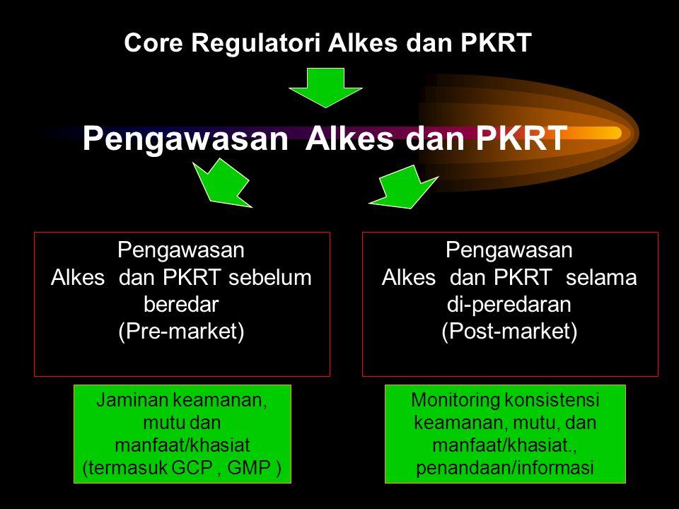 Core Regulatori Alkes dan PKRT Pengawasan Alkes dan PKRT