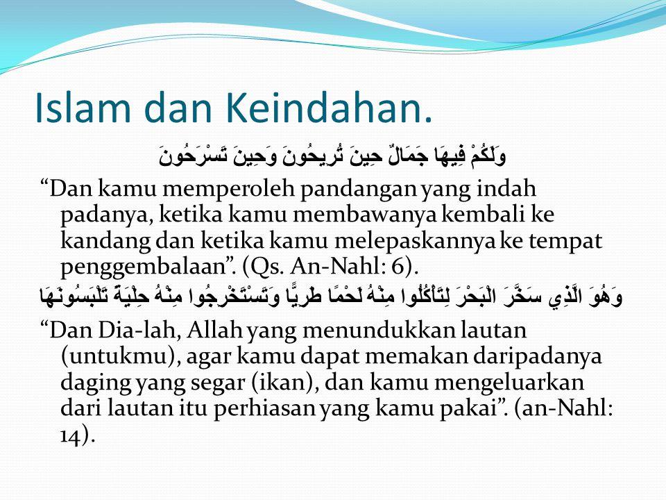 Islam dan Keindahan.