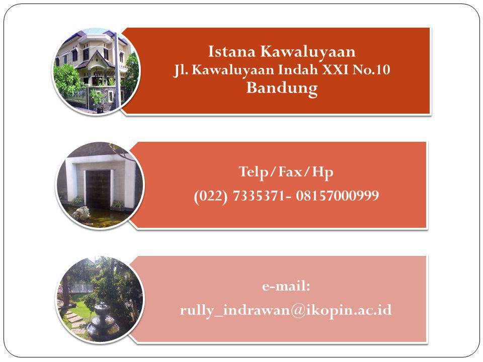 Istana Kawaluyaan Jl. Kawaluyaan Indah XXI No.10 Bandung