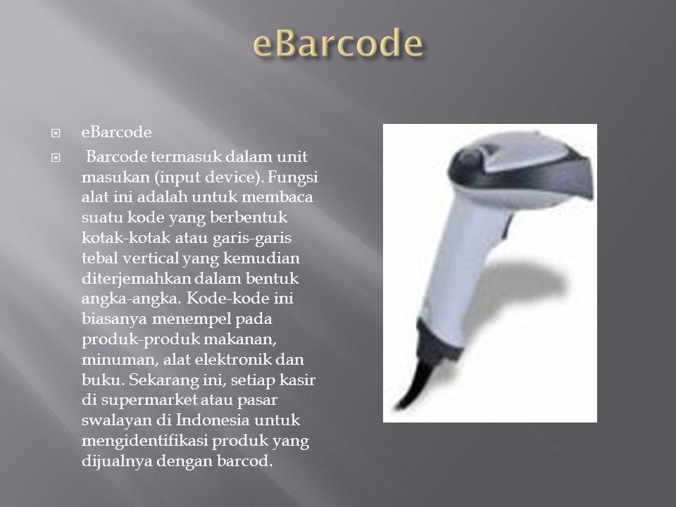 eBarcode eBarcode.